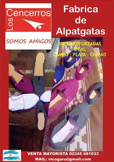 Alpargatas Los Cencerros Venta Mayorista