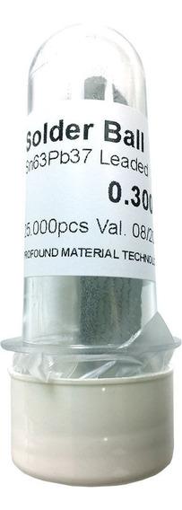 Solda Esfera Bga Sn63 Pb37 0.2 A 0.5 0.6 0.76mm Bola 25k