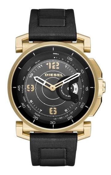Smartwatch Diesel On Híbrido Masculino Dourado - Dzt1004/0pi