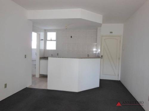 Apartamento Com 1 Dormitório À Venda, 50 M² Por R$ 210.000,00 - Jardim Do Mar - São Bernardo Do Campo/sp - Ap1449