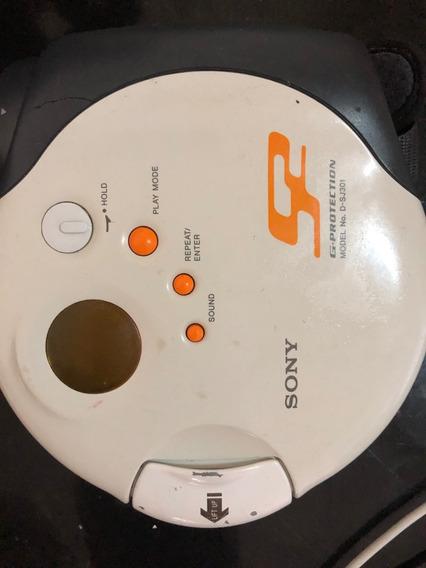 Walkman Cd Player Sony Sport, D-sj 301 Nao Ligar