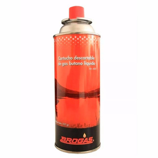 Cartucho Gas Butano Brogas 227gr Anafe Calentador Calentador