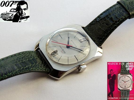 Relógio Moeris James Bond De 1966 - Agente 007