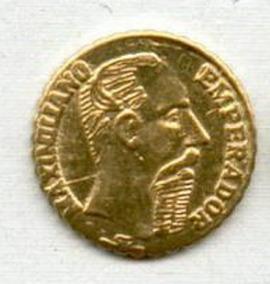 Moeda De Ouro De 1865 24k