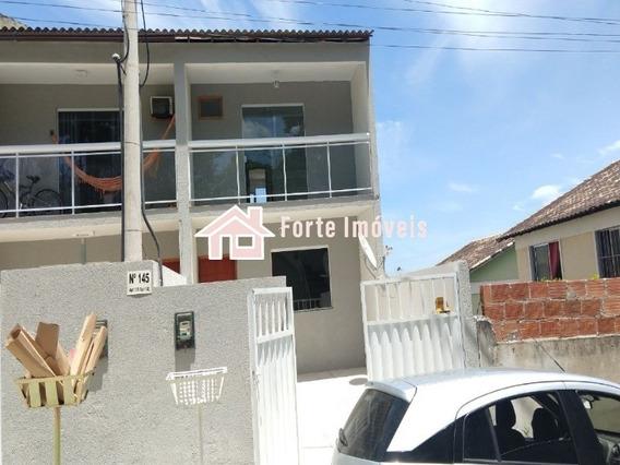 Ca0025 Excelente Casa Duplex 2 Quartos C/2 Suítes - Cg/rj