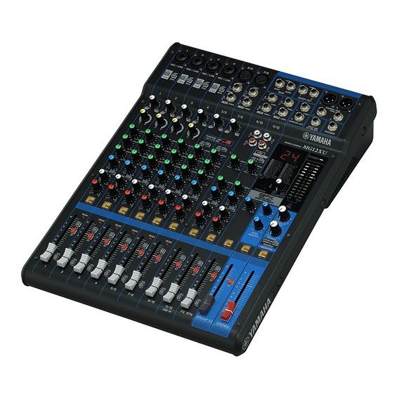 Mesa De Som Yamaha Mg12xu 12 Canais Com Efeitos + Usb + 1 Ano De Garantia + Nota Fiscal