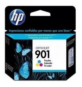 2 Cartuchos De Tinta Hp 901 Color Original