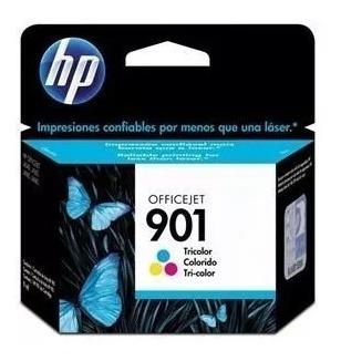 1 Cartucho De Tinta Hp 901 Color Original