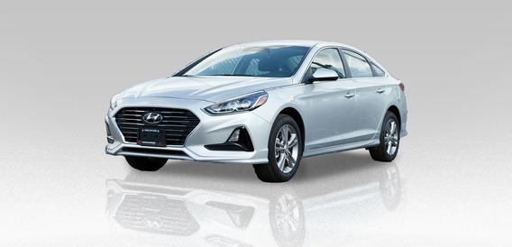 Hyundai Sonata Gls 2.4l 2018 Plateado 4 Puertas