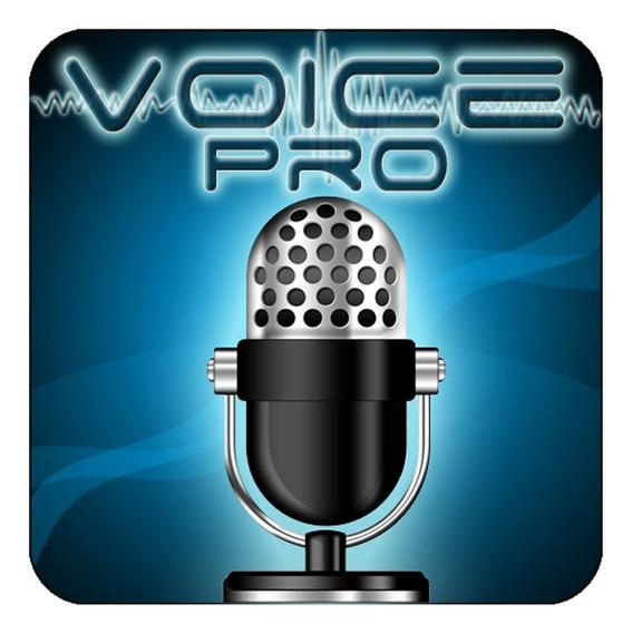 Voice Pro Editor De Áudio Full Aplicativo P/celular