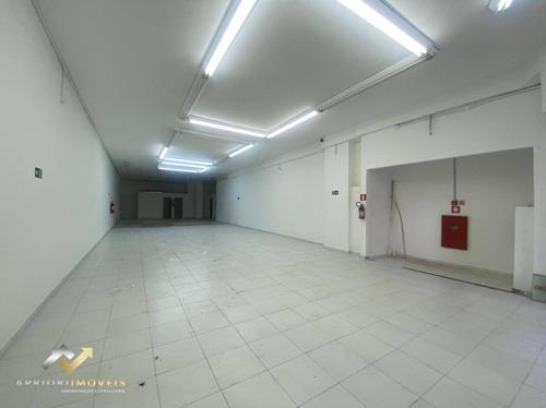 Salão Para Alugar, 300 M² Por R$ 40.000,00/mês - Centro - Santo André/sp - Sl0201