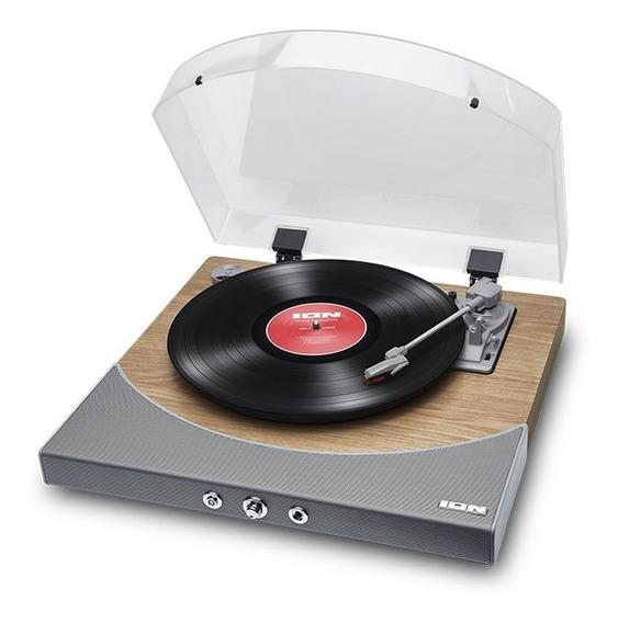 Premier Lp Ion Toca-discos Prata Usb Mp3 Vitrola Com Conversor Digital E Bluetooth Premier-lp