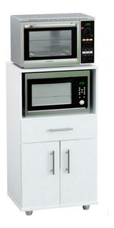 Rack Para Microondas Y Grill Centro Estant G11 Blanco