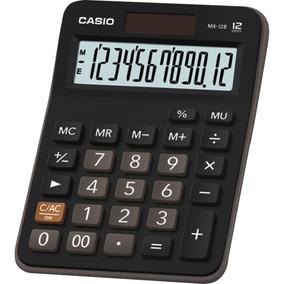 Calculadora De Mesa 12 Dígitos Bateria E Solar Casio