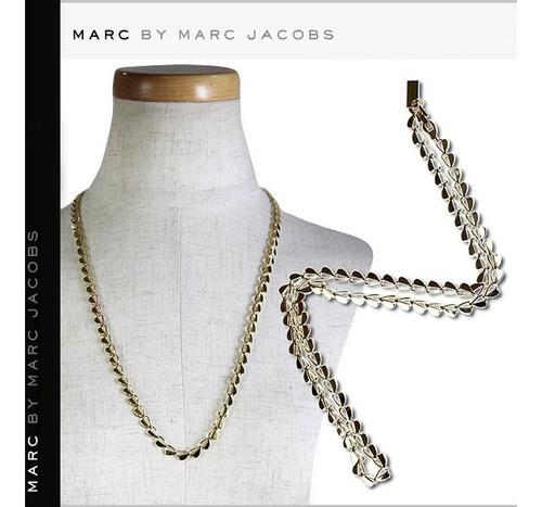 Marc Jacobs Cadena Collar  Corazones Única En El Sitio
