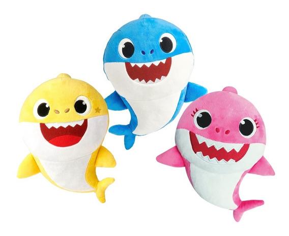 Peluches Originales Baby Shark - Con Música - 30 Cm