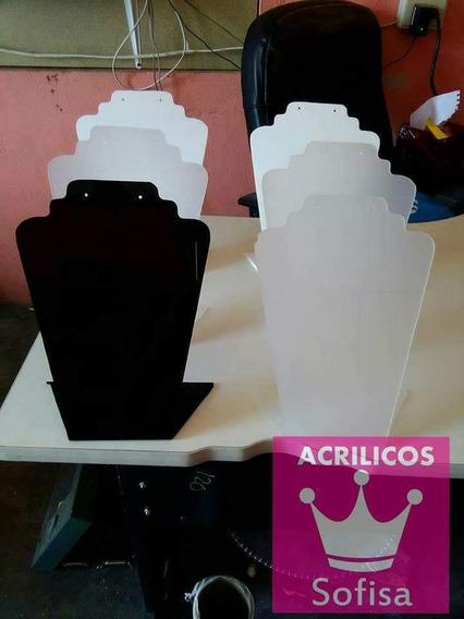 Exhibidor Collar Y Aretes Cuello