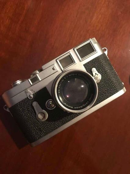 Câmera Leica M3 + 50mm Summicron