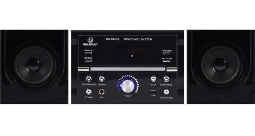 Micro System Waldman Kit Som Ambiente Receiver Dvd Ms40 Usb
