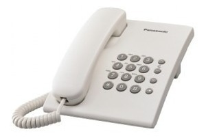 Teléfono Analógico Kx-ts500mew Panasonic Kx-ts500m Telpan080