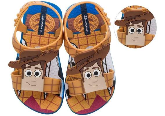 Chinelo Sandália Infantil Masculino Baby Ipanema Clássicos 101 Dálmatas Toy Story Rei Leão 26359 Novo