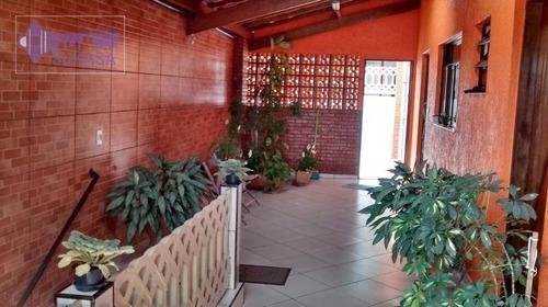 Casa Com 2 Dormitórios À Venda, 136 M² Por R$ 489.000,00 - Vila Bela Vista - Santo André/sp - Ca0182