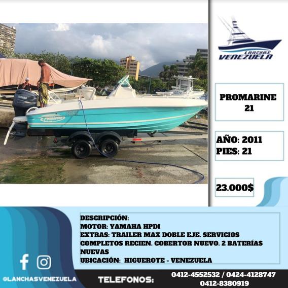 Lancha Promarine 21 Lv454