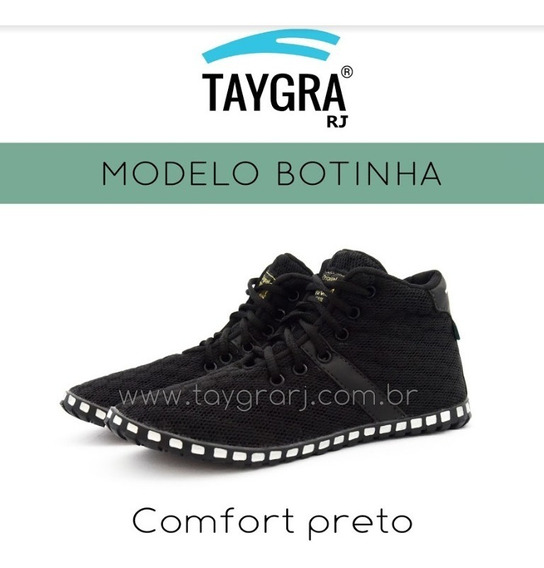 Tênis Modelo Botinha Comfort Preto
