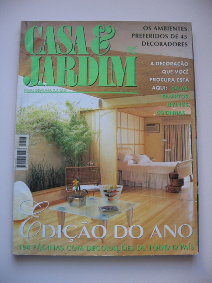 Revista Casa E Jardim - Nº 517 - Edição Do Ano