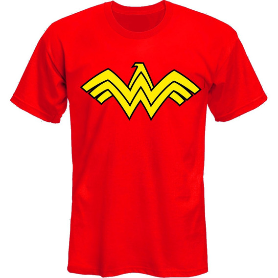 Remeras Wonder Woman Mujer Maravilla Logo *mr Korneforos*