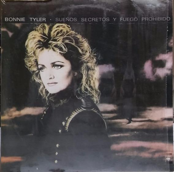 Bonnie Tyler - Sueños Secretos Y Fuego Prohibido Lp Vinilo