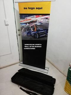 Banner Roll Up Semi-nuevo (excelentes Condiciones) Remate !!