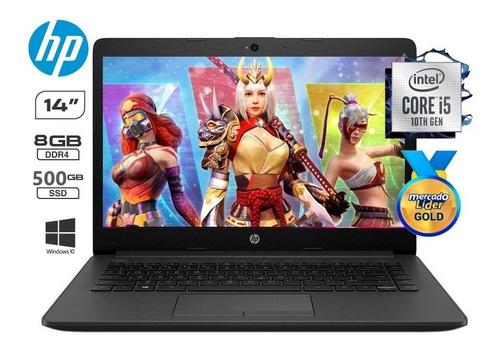 Laptop Portatil Hp Core I5 10ma  Disco Ssd 500gb/8gb/14  Iva