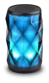 Caixa De Som Bluetooth Com Iluminação E Bateria Novik Aurora