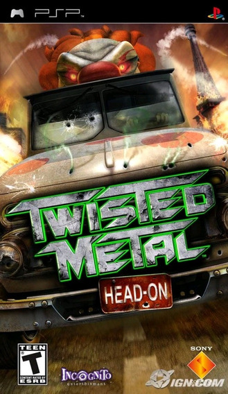 Jogo Twisted Metal Head On Playstaiton Portable Psp Original