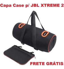 Capa Case Jbl Xtreme 2 Neoprene Eva Com Bolsa De Acessórios