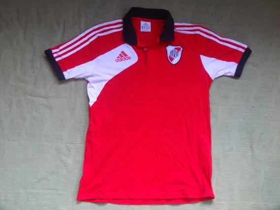 River Plate Remera Roja Tipo Chomba Original adidas