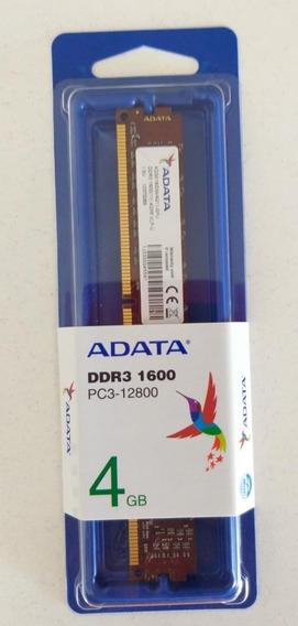 Memoria Ddr3 1600 4gb Adata- Informática Fyl