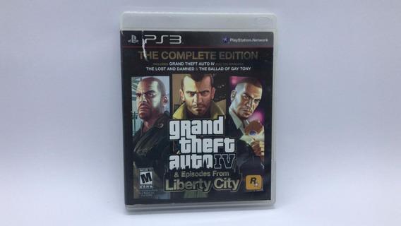 Gta 4 The Complete Edition - Ps3 - Midia Fisica Cd Original
