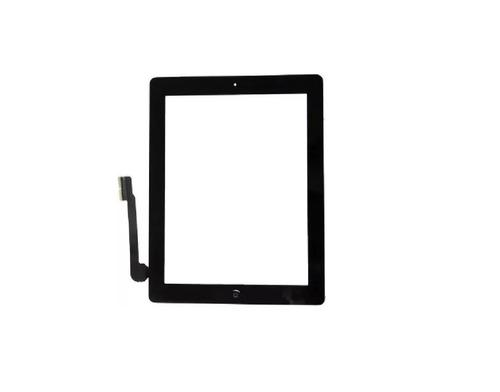 Tela Touch iPad 3 A1416 1430 1403 Com Adesivo 3m Preta