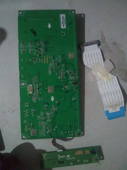 Placa Principal, Sensor E Cabo Flat Tv M2380