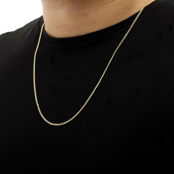 Corrente Cordão Grumet Ouro 18k 750 45cm