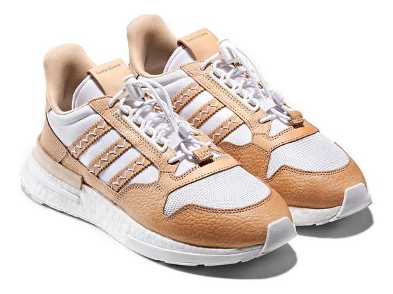 Tenis adidas Hender Scheme Zx500 White Originales Nmd Boost