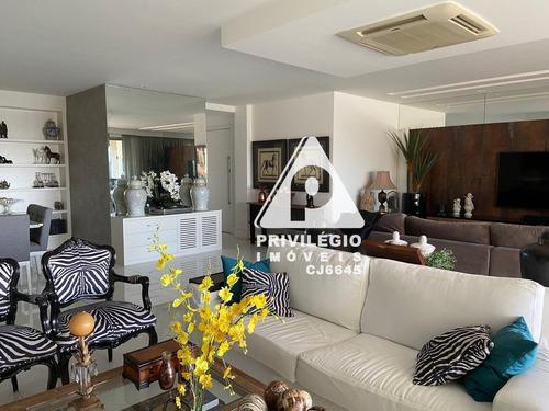 Imagem 1 de 24 de Apartamento À Venda, 4 Quartos, 4 Suítes, 3 Vagas, Barra Da Tijuca - Rio De Janeiro/rj - 27942