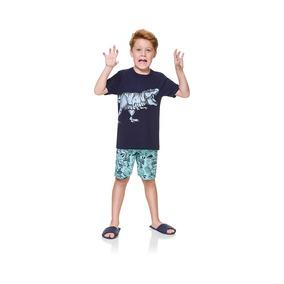 Pijama Infantil Dinossauro - Boca Grande