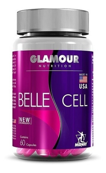 Multivitamínico Belle Cell Glamour 60 Caps - Midway