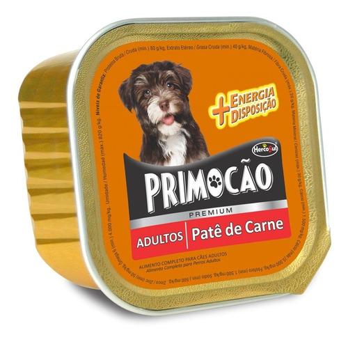 Pate Perro Primocao Adulto Carne 300 Grs