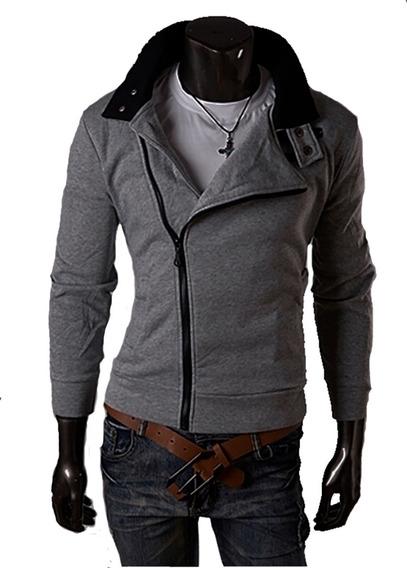 Buzo Campera Hombre Sudadera Hoodie Jacket Entallada Hoddies A25