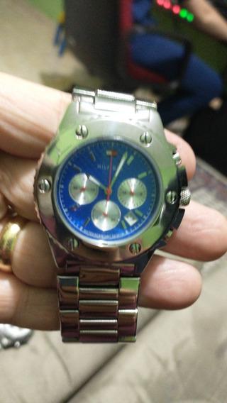 Relógio Hilfiger Azul.