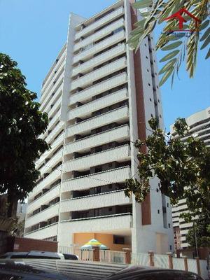 Apartamento Com 03 Quartos/suítes, 02 Vagas De Garagem No Bairro Papicu - Ap0297